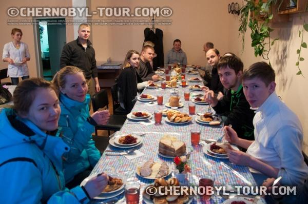 Ужин в Чернобыле